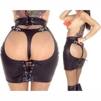 Hot Deal Sexy On Sale Cute Stretch Skirt Exotic Lingerie [6596640771]