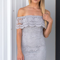 Zali Lace Off The Shoulder Dress