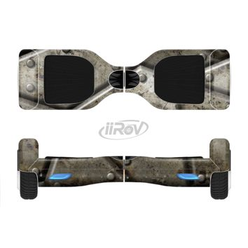 The Bolted Steal Plates V2 Full Body Skin Set for the Smart Drifting SuperCharged Transportation iiRov