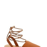 Topshop 'Holly' Lace-Up Sandal (Women) | Nordstrom