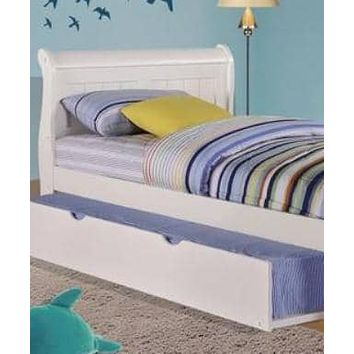 Scarlett Twin Sleigh Bed with Trundle