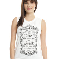 Disney Beauty And The Beast Girls Muscle Top