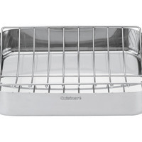 Roasting Pan w/ Rack, Silver, Roasters
