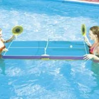 Floating Pool Pong Table: Toys & Games
