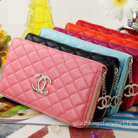 New Fashion Woman Hand bag Wallet Clutch Purse Credit Cards Holder Bag For Dinne