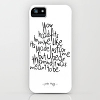 Little Things - One Direction iPhone Case by IER STORE