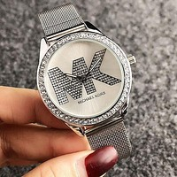 MK MICHAEL KORS Fashion Couple Diamond Quartz Watch Movement Wristwatch