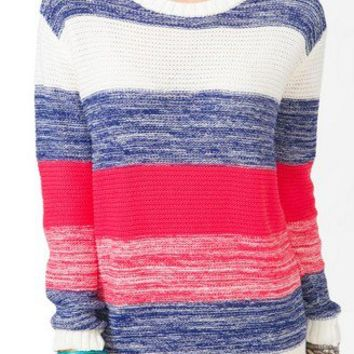 Thick Striped Knit Sweater   FOREVER 21 - 2021839506