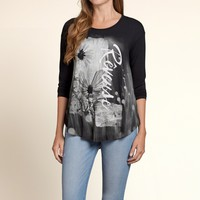 Photoreal Drapey Graphic Tee
