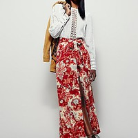 Free People Womens Young Thing Maxi Skirt
