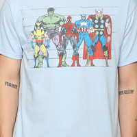 Marvel Lineup Tee - Urban Outfitters