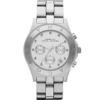 Marc by Marc Jacobs Blade Silver Chronograph Watch