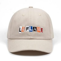 """LA FLAME"" dad hat"