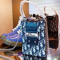 Wearwinds Dior sells fashionable men and women knitting monogram boxes and bags