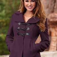 Women's Detail toggle coat
