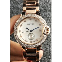 CARTIER 2019 new women's fashion hollow mechanical watch 4
