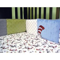 Dr. Seuss Cat in the Hat Crib Bumpers