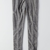 AEO Women's Double Waistband Jogger (Charcoal)