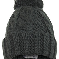 Green Turn Up Beanie - Hats & Scarves - Accessories