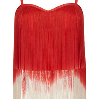 **Fringe Crop Top by Rare - Brands at Topshop - New In This Week - New In - Topshop