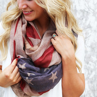 Liberty Infinity Scarf {Brown}