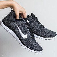 NIKE Trending Fashion Casual Sports Shoes Black grey Tagre™