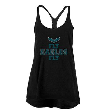 Fly Eagles Fly Juniors Twist Tank Top