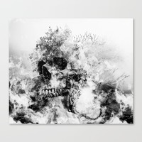 Silent Hill Canvas Print by RIZA PEKER