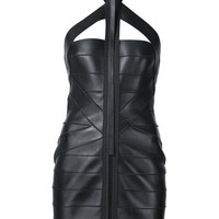 ODD. New York | DSQUARED2 - Bondage Leather Dress