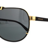 VERSACE Sunglasses VE2140 100287 Gold 40MM
