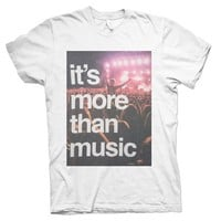 It's More Than Just Music T-Shirt - Rave T-Shirts