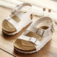 Beachy Leather Sandals