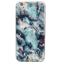 Cool Marble phone cases for iphone 5 5s 6 6s 6 plus 6s plus Soft Slim Oil Painting Cover