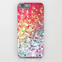 sequin pretty; iPhone & iPod Case by Pink Berry Patterns