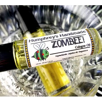 ZOMBEE Honey Roll On Cologne   Honeycomb Scent Zombie Perfume