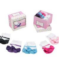 Ruffled Butts Girl Princess Sock Gift Set