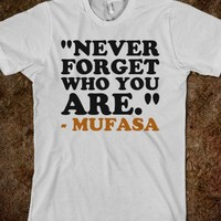 Never Forget Who You Are - Text First