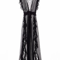 Chiffon Ruffle Robe - The Victoria's Secret Designer Collection - Victoria's Secret