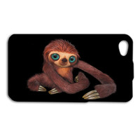 Super Cute Monkey iPhone Case Funny Character Movie Disney iPod Case iPhone 4 iPhone 5 iPhone 5s iPhone 4s iPhone 5c iPod 4 Case iPod 5 Case