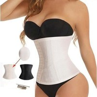 Fashion Waist Trainer Belt Breathe Freely Slim Girdling Body Shaper Women Staylace Corsets [8833912140]
