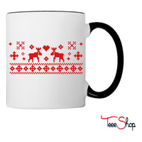 Reindeer Christmas Coffee & Tea Mug