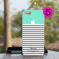 NEW iphone 5 case iphone 5 cover The colors of the lines Random With any one color Change  iphone5(Customize other models)