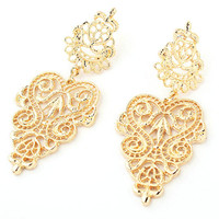 Long Ethnic Bohemian Hollow Out Earrings Vintage Jewelry Best Gift For Girls Accessories P18