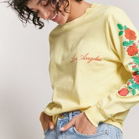 Los Angeles Floral Graphic Tee