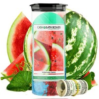 Watermelon Splash | Cash Bath Bombs Twin Pack