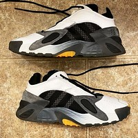 ADIDAS STREETBALL MEN street style with bright colors Black-white -yellow dots