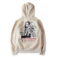 YEEZY fashion thickening printed single men and women