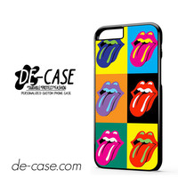 The Rolling Stones Pop Art Logo DEAL-10995 Apple Phonecase Cover For Iphone 6 / 6S