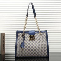 Gucci New Women Fashion Leather Satchel Bag Shoulder Bag Handbag