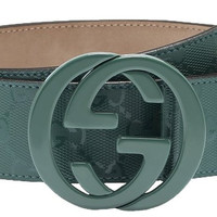 Gucci GG Imprimé Interlocking G Buckle Belt